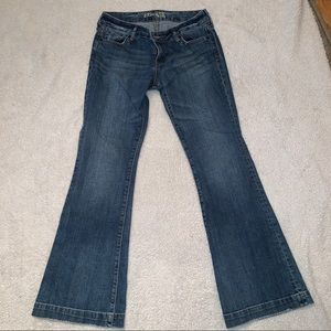 "Express ""Stella It Flare"" Jeans"